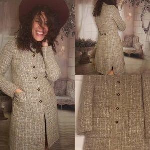 Booton Up Grey Coat